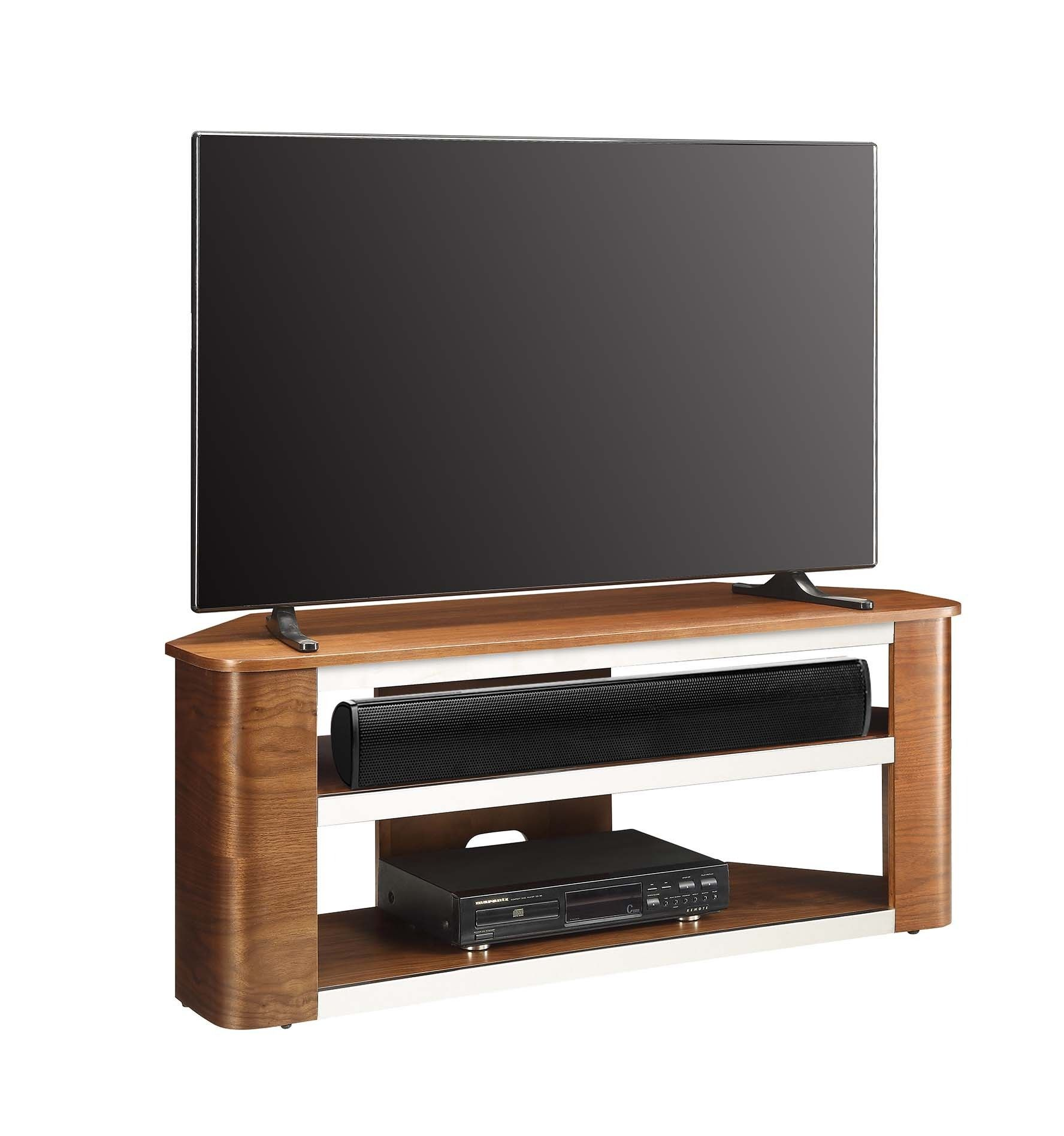 Jual Furnishings Jf708 Walnut Acoustic Tv Stand It Allows You To  # Meuble Tv Sound