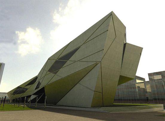 Zaha Hadid, University Seville   Zaha hadid architects, Zaha hadid, Zaha  hadid design