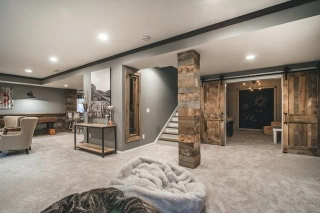 We All Know Home Design Is Really Important To Design That Is Why You Must Check Our 20 Bes Finished Basement Designs Rustic Basement Small Finished Basements