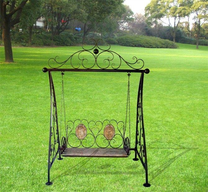 iron outdoor swing chair iron swing