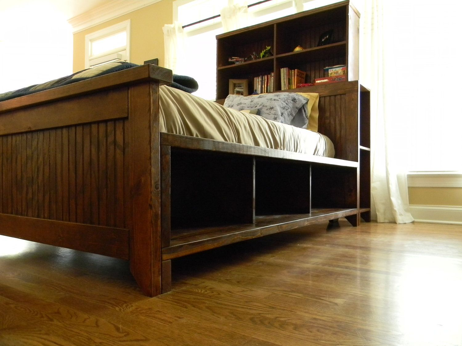 I Want This Bed For The Boys Storage Bed Furniture Bed Storage [ 1125 x 1500 Pixel ]