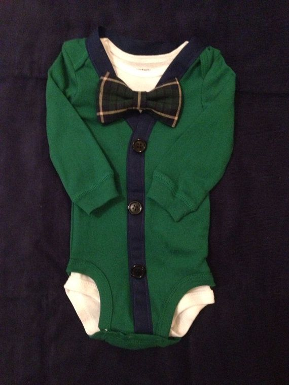 0b3220a8255 Apollo - Baby Boy Clothes - Newborn Outfit - Baby Shower Gift - Trendy -  Preppy - Cardigan - Bow tie - Photo Prop