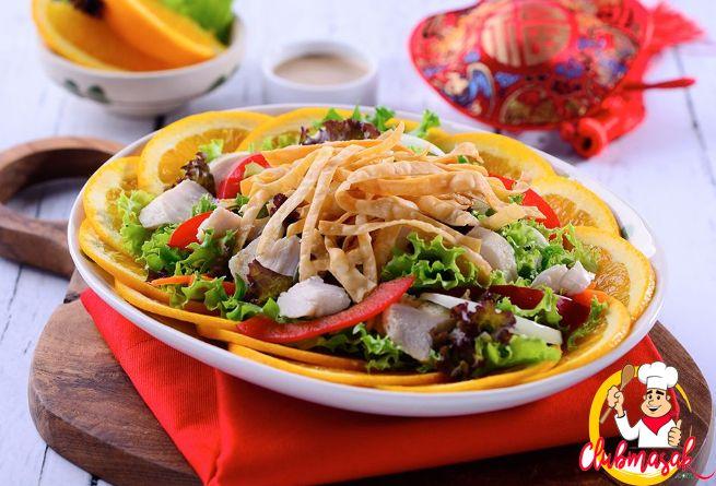 Resep Salad Ayam Salad Sayur Untuk Diet Club Masak Resep Salad Salad Ayam Salad Sayur