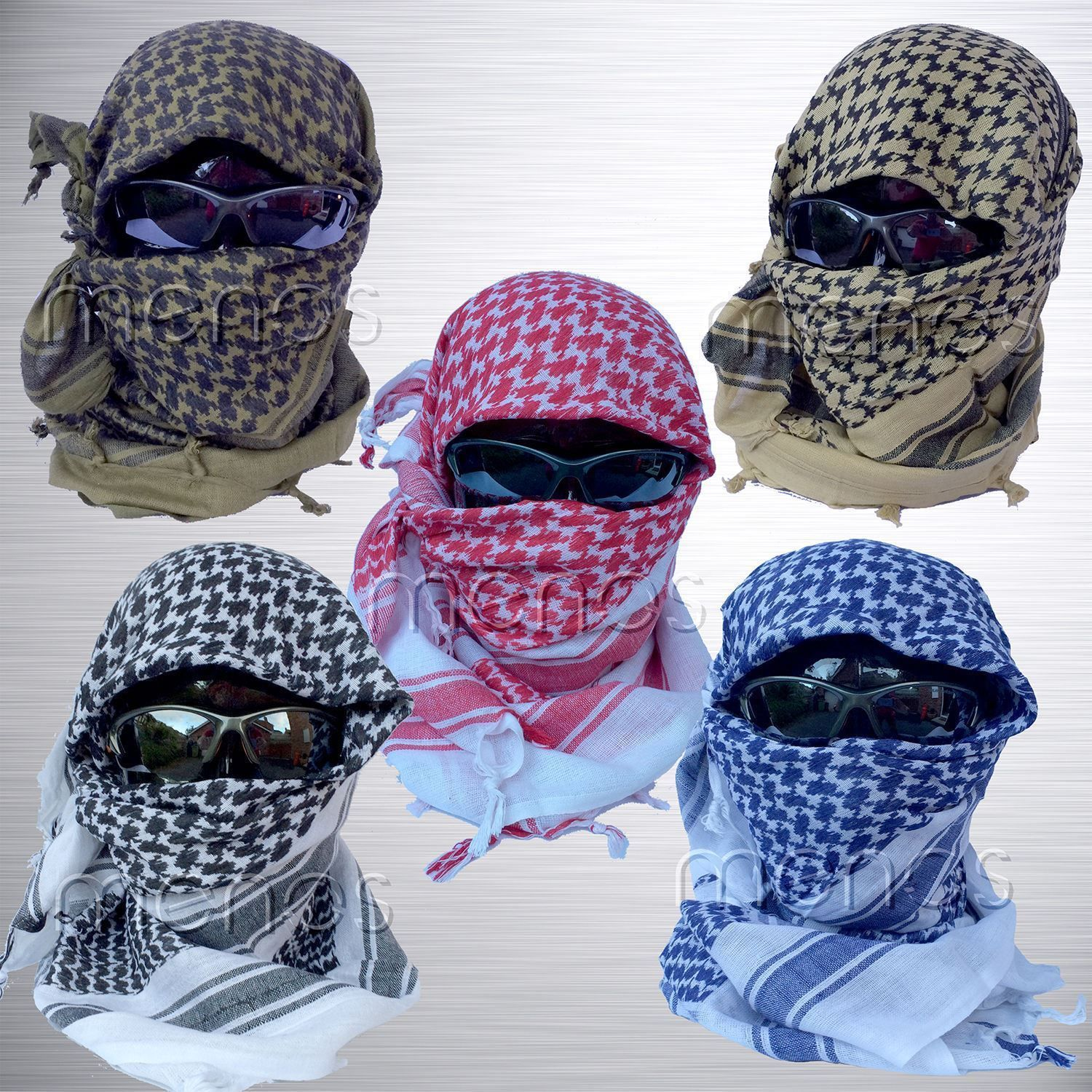 Shemagh Head Scarf Military b25d01098184