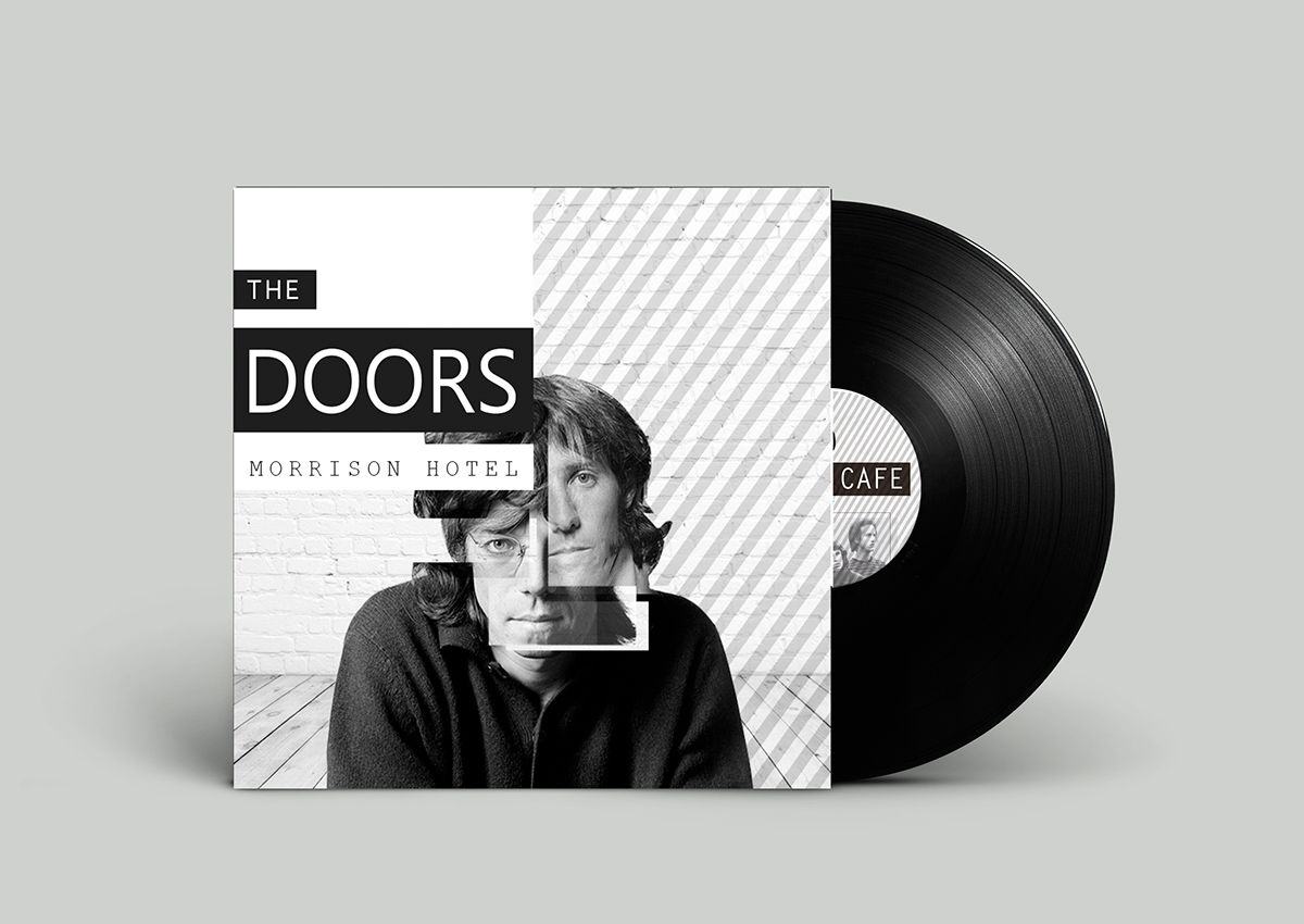 Vinilo The Doors on Behance
