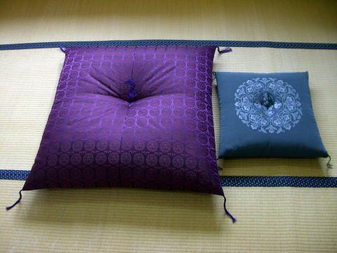 大森屋 法要・高座座布団 Idea01 Throw Pillows、pillows、bed