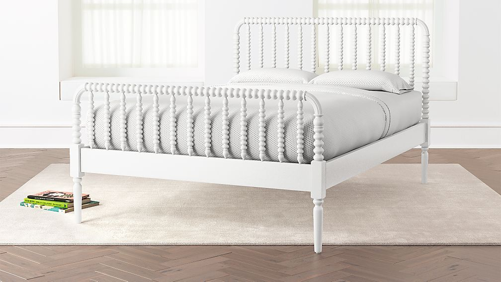 Full Coral Jenny Lind Kids Bed Reviews Crate And Barrel