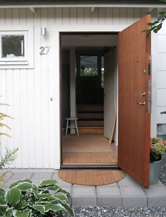 Easy DIY: Indoor/Outdoor Entry Mat Chez Larsson