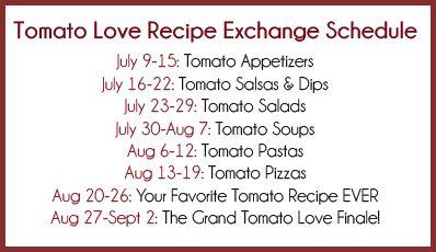 Tomato Love Recipe Exchange | Bake Your Day