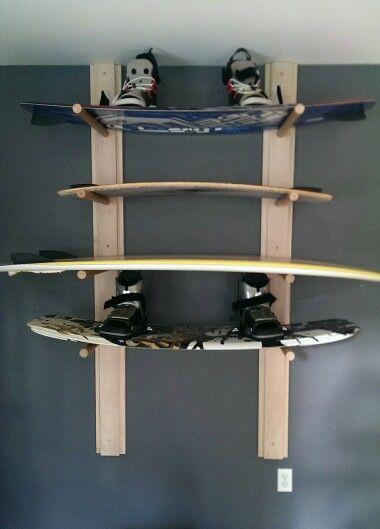 Wakeboard Rack Wakeboarding Surfing Wakeboard Rack