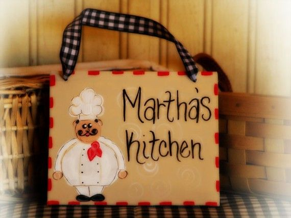 personalized kitchen accessories cucina chef personalized kitchen sign country 1471