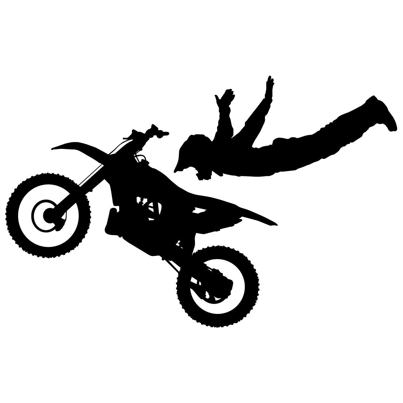 Motocross dirt bike wall decal sticker 7