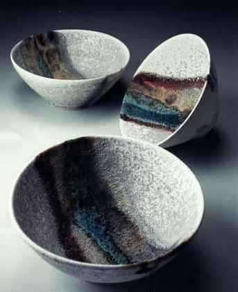Ceramics by Jacqui Ramrayka at Studiopottery.co.uk - Porcelain Bowls.