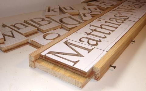 Making 3d Letters With The Pantograph Woodworking Pinterest 3d