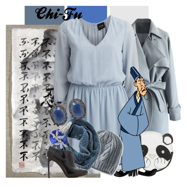 """Chi-Fu"" by amarie104 ❤ liked on Polyvore featuring Chicwish, VILA, Dorothy Perkins, CHI, Merona, Pistil, Cathy Waterman, Burberry, ADORNIA and battleofthedisneyfashions"
