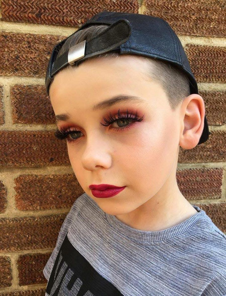 This 10 YearOld Boy Is Better At Makeup Than You Could
