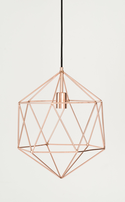 Skyer gem pendant copper main light fixture for kitchen cool