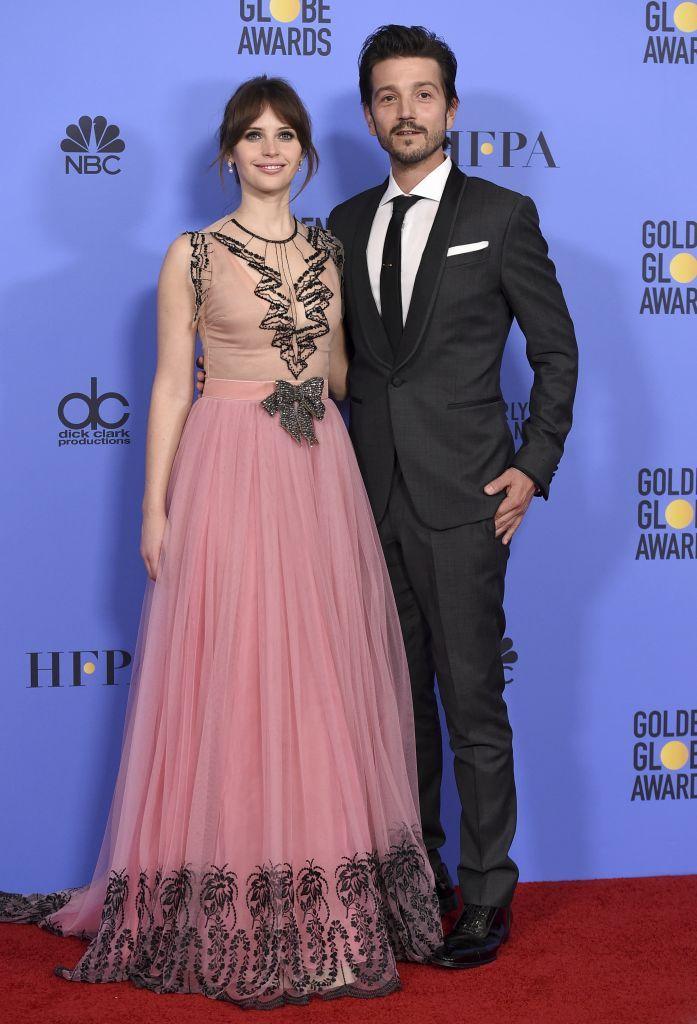 Felicity Jones & Diego Luna