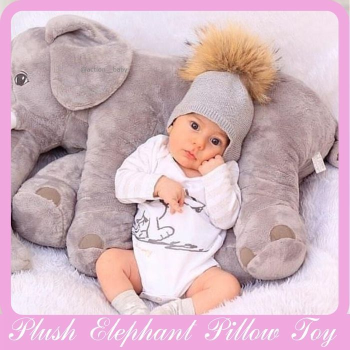 Photo of Plush Elephant Pillow Toy