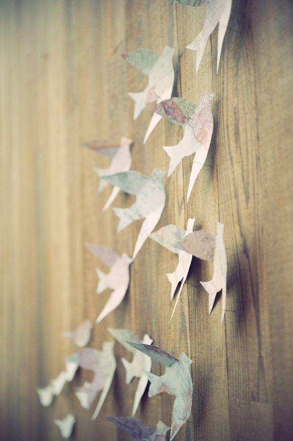 hallway....different version? | Crafts | Pinterest | Bird, Paper ...