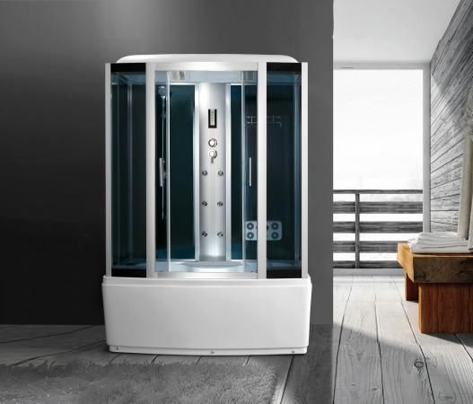 Pin su Cabina Idromassaggio con sauna in varie misure