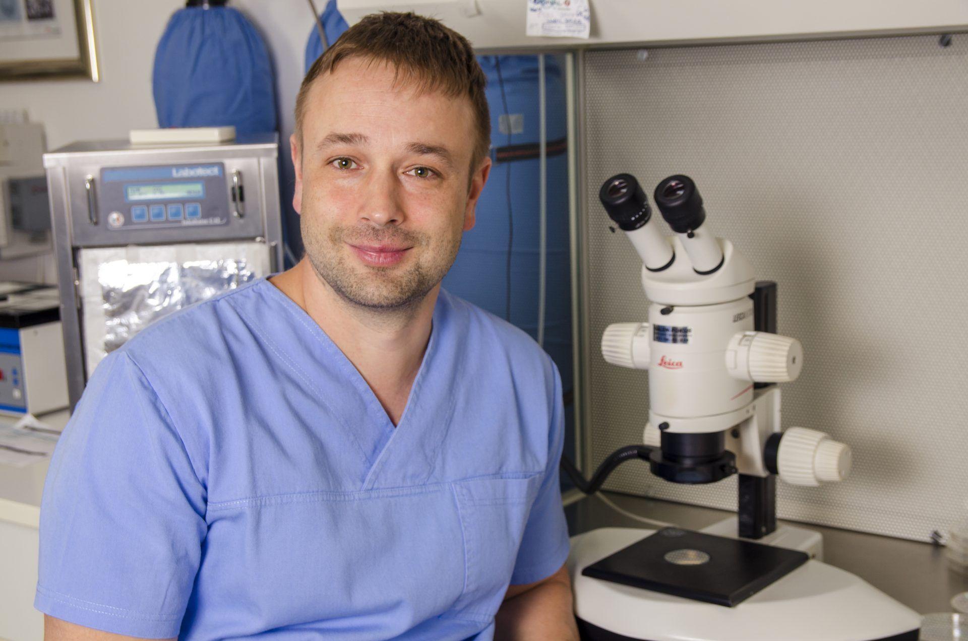 Balyi Balazs, klinički embriolog bolnice Genesis Moj