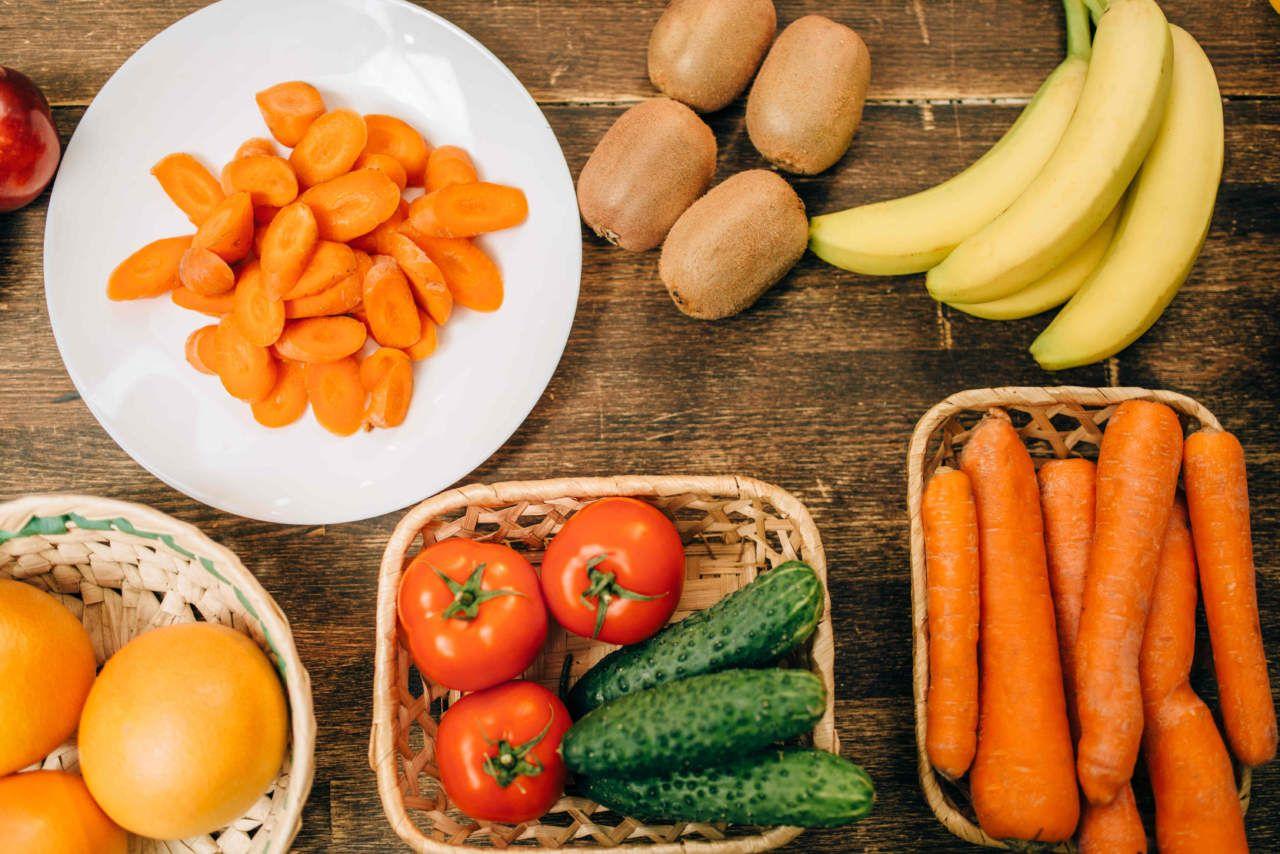 dieta senza verdure frutta
