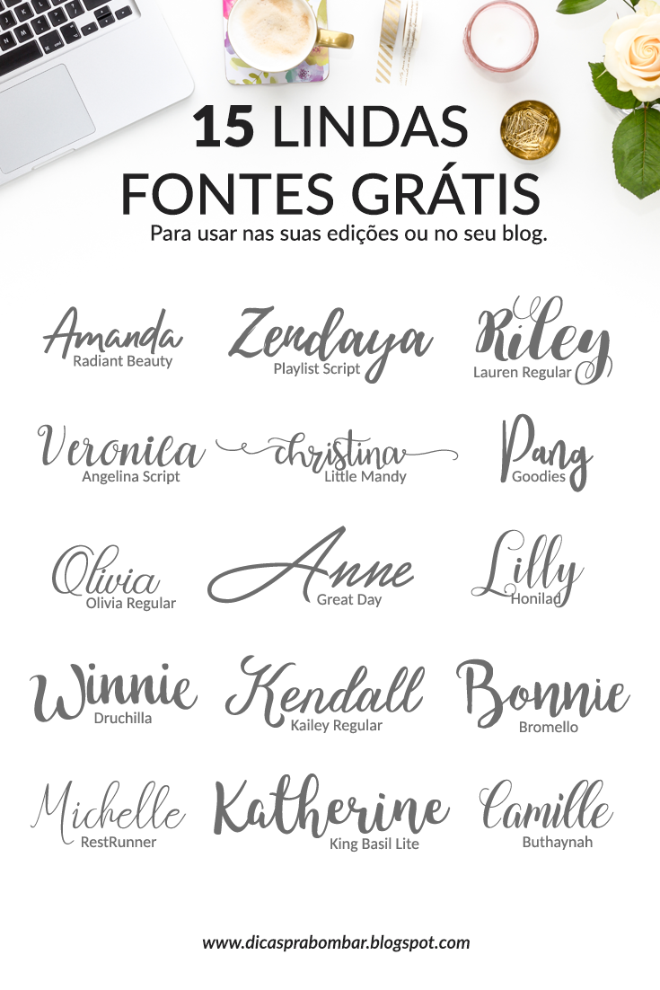 Lindas fuentes manuscritas How to promote your blog #blogger