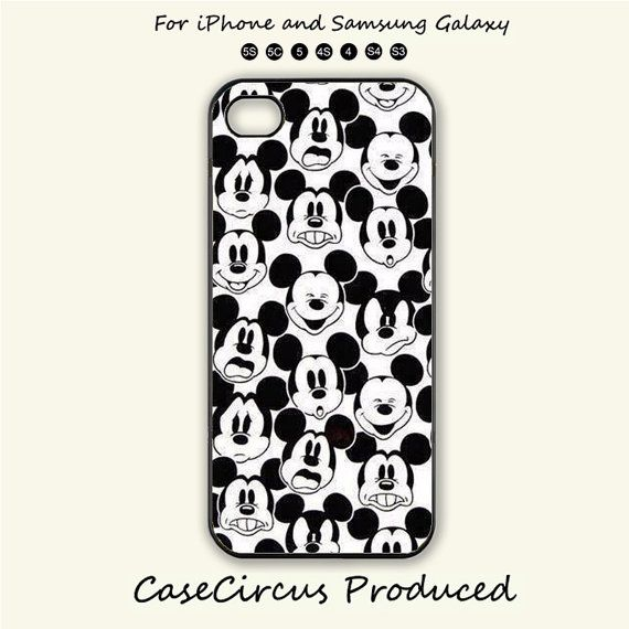 Disney,Mickey Mouse,Expression,iPhone 5 case, iPhone 5C Case, iPhone 5S , Phone case, iPhone 4S , Case,Samsung Galaxy S3, Samsung Galaxy S4 on Etsy, $8.99