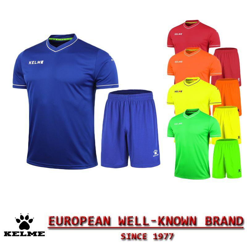 KELME Official Authentic Spain Children Soccer Jerseys Sport Brand Jersey  Football Set 2016 Training Suits Jersey 49457d138