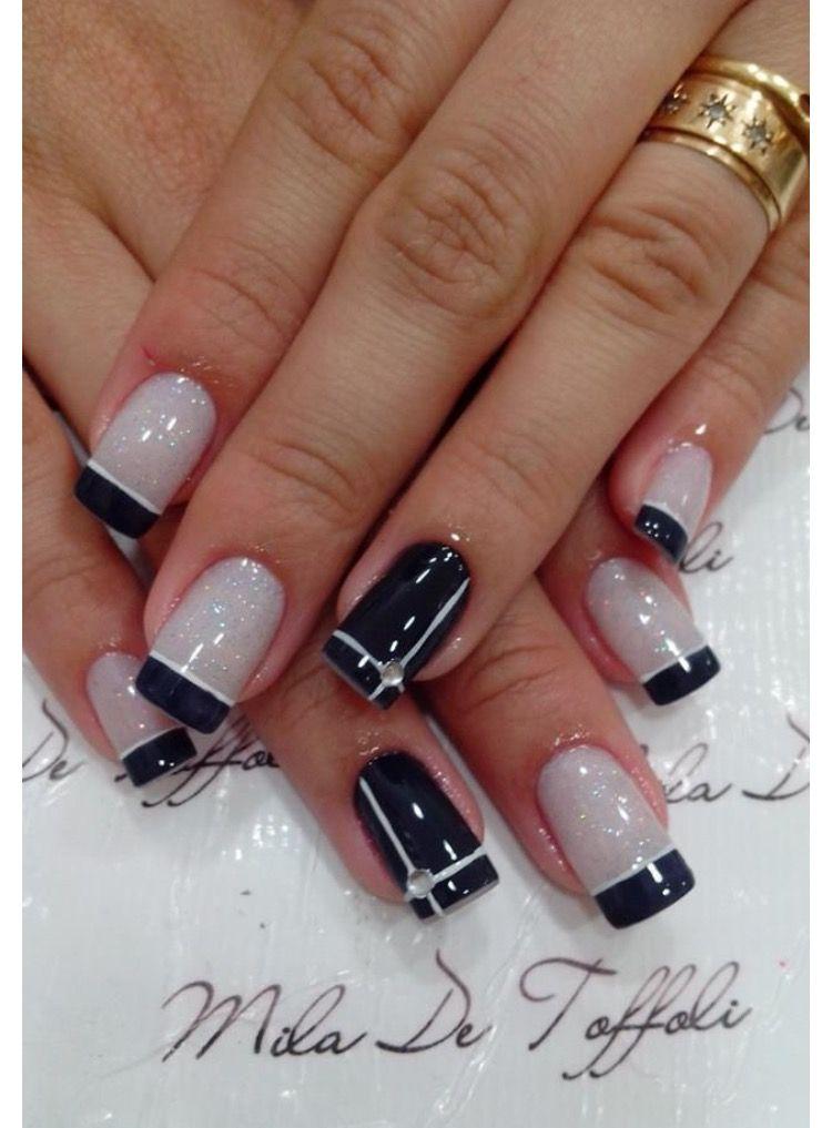 Pin by Hannah Davis on Nail Art | Pinterest | Short nails, Pedicures ...