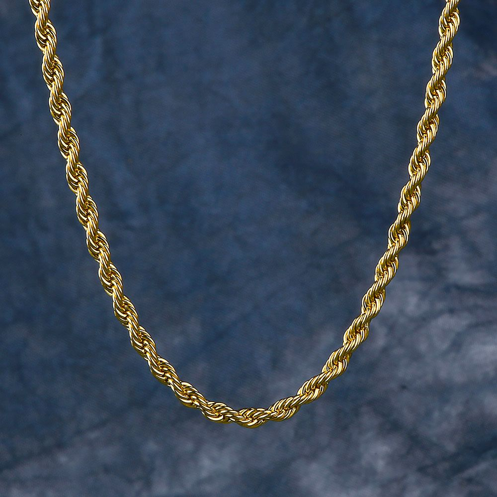 Www Krkcom Com Chains Rope Chains 3mm 14k Gold Rope Chain Gold Rope Chains 14k Gold Rope Chain Rope Chain