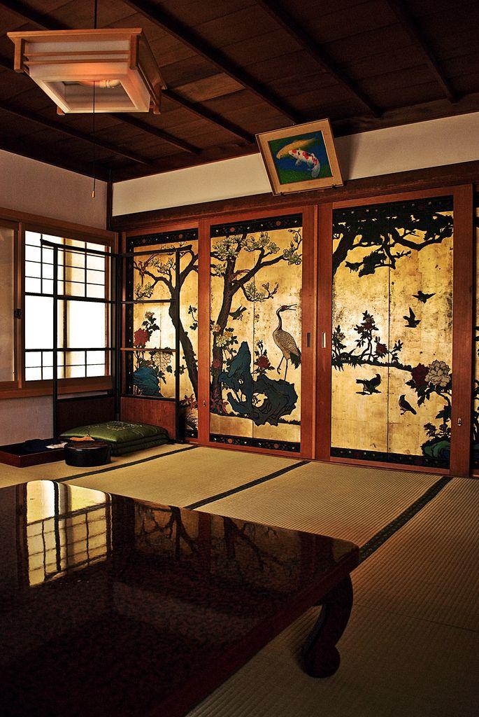 Traditional Korean Interior Design Black Hexagon Modern