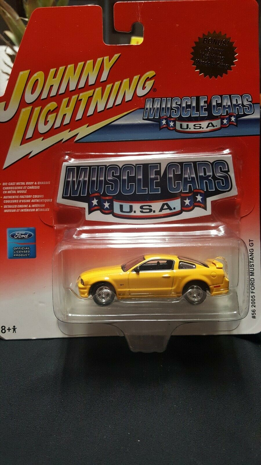 2006 Johnny Lightning 56 2005 Ford Mustang Gt Item 50151 In 2020 With Images Ford Mustang Gt Mustang Gt 2005 Ford Mustang