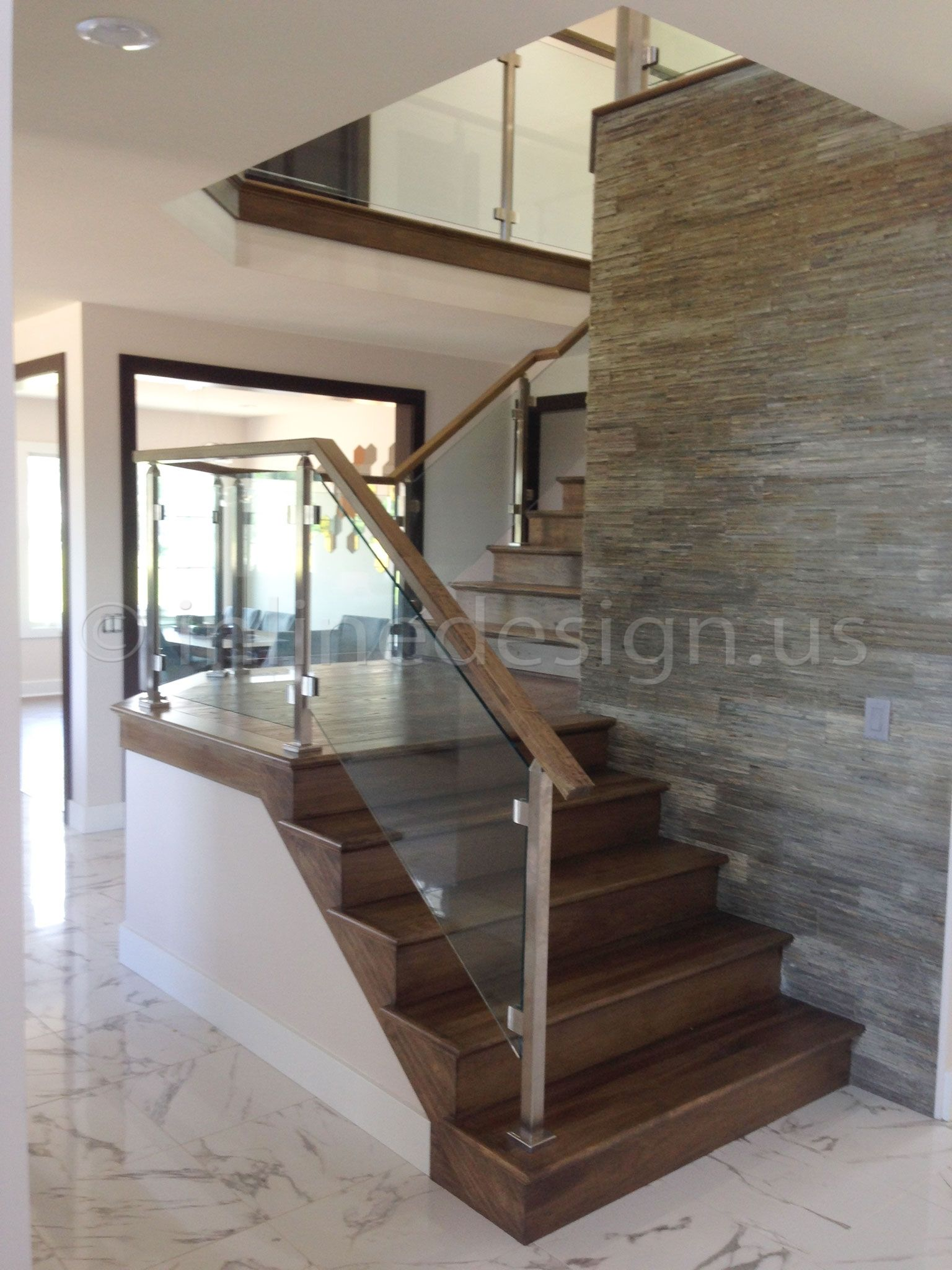 install home monmouth step interior systems spiral of image blues railings railing