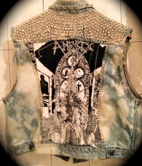 CUSTOM PUNK VEST for 98 with free shipping