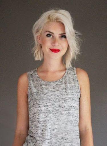 Medium length platinum blonde hair | Hair | Blonde ...