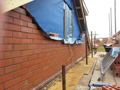 Full Length Dormer Addition Brick Loft Dormers Attic Design