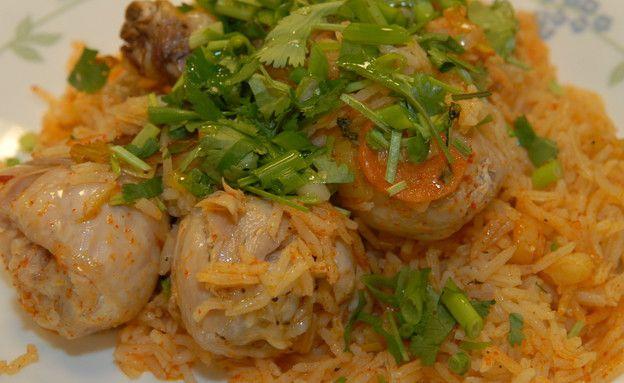 פילאף אורז עם עוף וירקות שורש (צילום: טופ ליין תקשורת ,אוכל טוב)