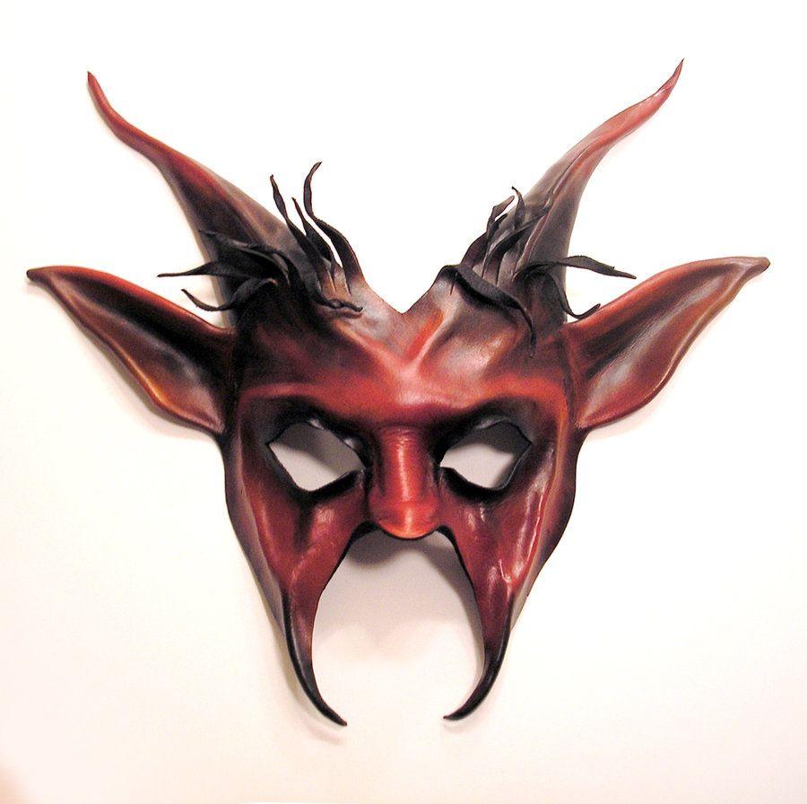 Devil Goat Leather Mask Krampus Pan by ~teonova on deviantART ...