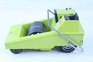 Vintage Pressed Steel Tonka Lime Green Construction Road Paver W Road Roll | eBay