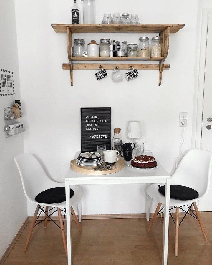 GroBartig Kleiner Essplatz In Der Küche Mit Zwei Sitzplätzen   Perfekt Für Eine Kleine  Küche Mit Wenig