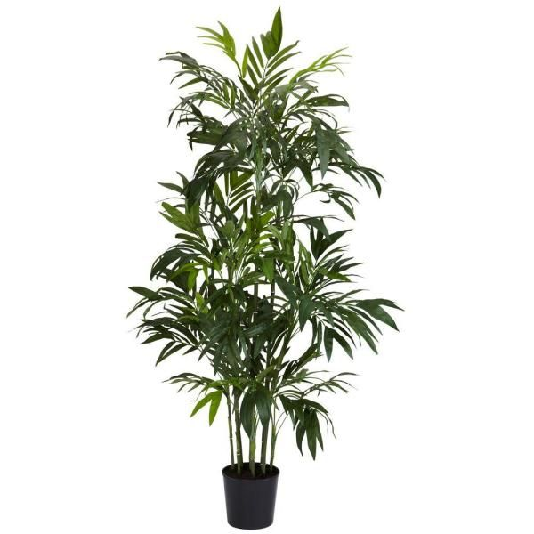 Nearly Natural 8 Ft Biggy Style Bamboo Tree 5192 Faux Flowers