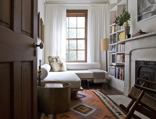 Tmag_Robert_Mckinely_0059  Cozy Doors And Small Library Rooms Alluring Living Room Design For Small Spaces Design Inspiration