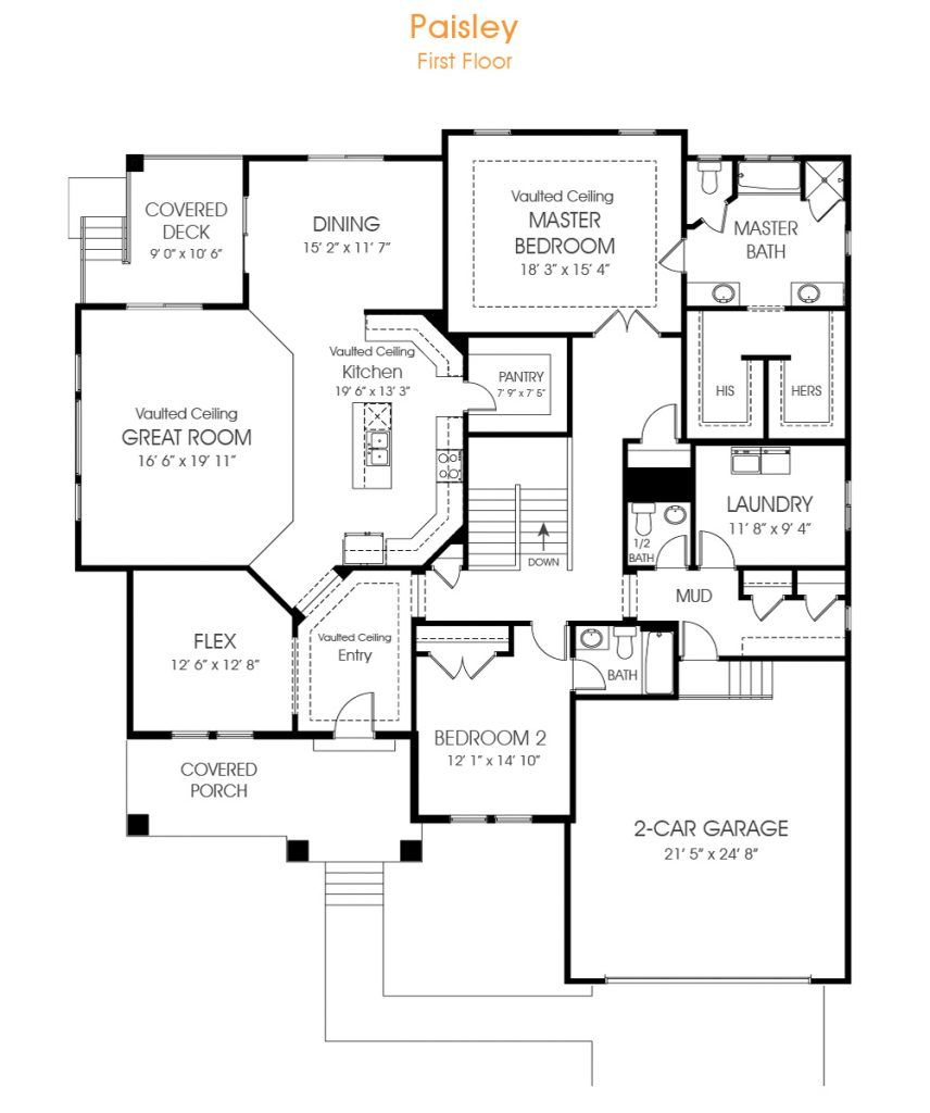 Lovely 2 Bedroom Rambler Floor Plan Great For Your New Utah Home Edge Builds In Many Beautiful Communities In Utah Rambler House Plans Floor Plans How To Plan