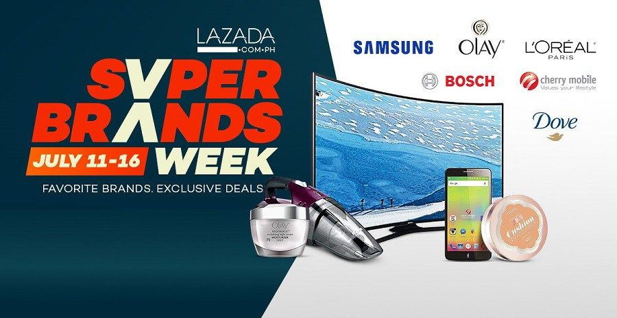 lazada philippines super brands flash sale schedule for july 11
