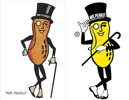 Planters Peanuts with Mr. Peanut - Planters Peanuts With Mr. Peanut Advertising Old & New