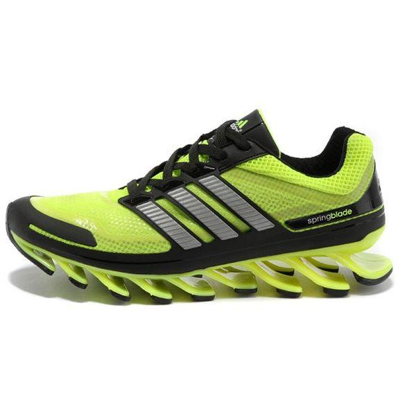 pretty nice e8671 f94de Tênis estilo Adidas Springblade Masculino - Verde Limão