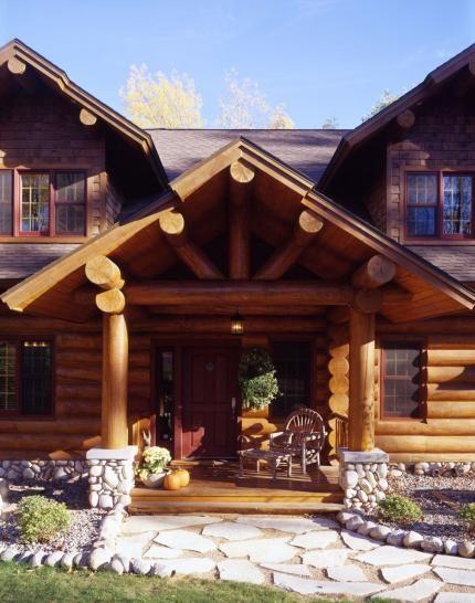 Exteriors Log Cabin Exterior Log Homes Log Homes Exterior