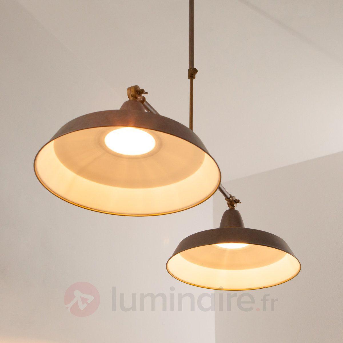 Luminaire 2 lampes